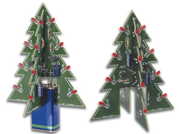12V Velleman MK117 LED Weihnachtsbaum groß 9V Natur & Wissenschaft