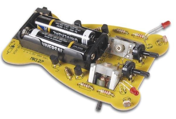 Lernspielzeug Happy Face SMD LED Smilie Bausatz Velleman MK141
