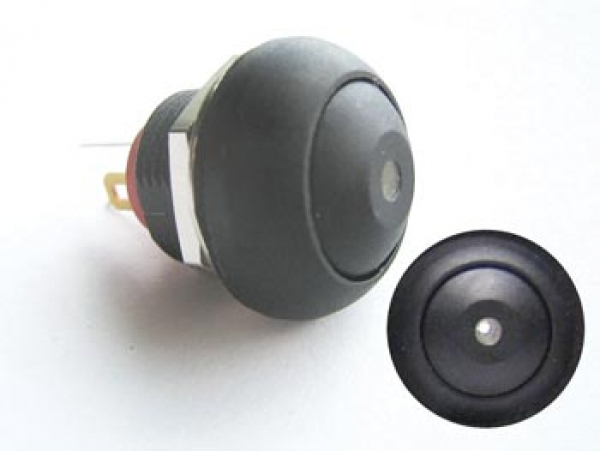 drucktaster taster r1396w mit weisser led beleuchtung velleman l deke elektronic. Black Bedroom Furniture Sets. Home Design Ideas