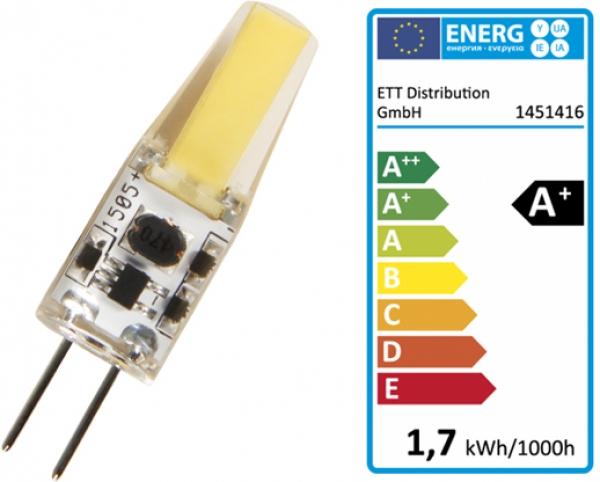LED Leuchtmittel Lampe G4 12V WarmWeiß 3000K 200Lumen 360° 1,5W ...