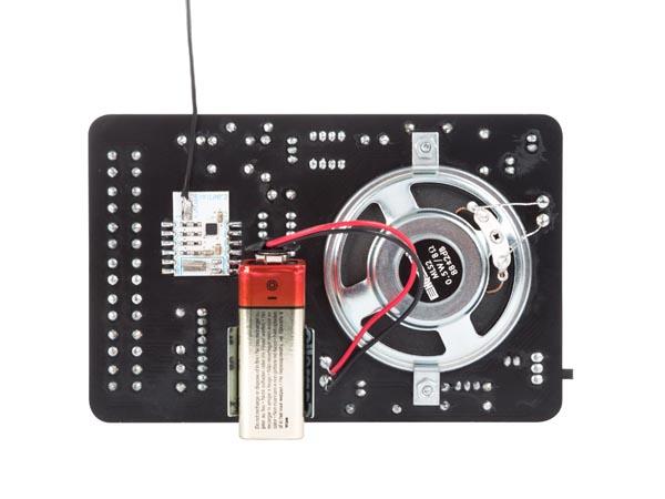 digital gesteuertes fm ukw radio empf nger 9v dc mk194n velleman bausatz l deke elektronic. Black Bedroom Furniture Sets. Home Design Ideas