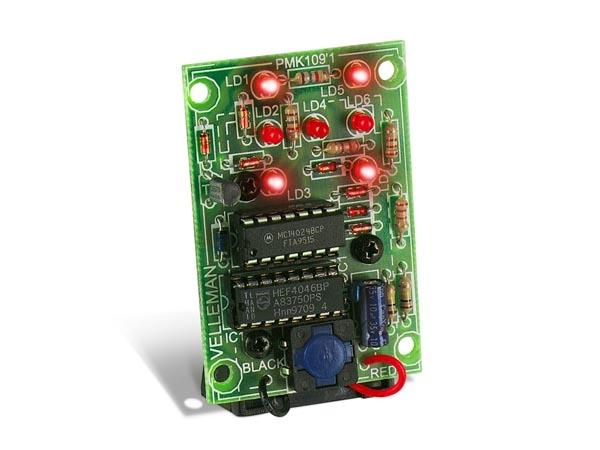 Elektronischer LED Würfel 9V MK109 Velleman Bausatz | Lüdeke Elektronic