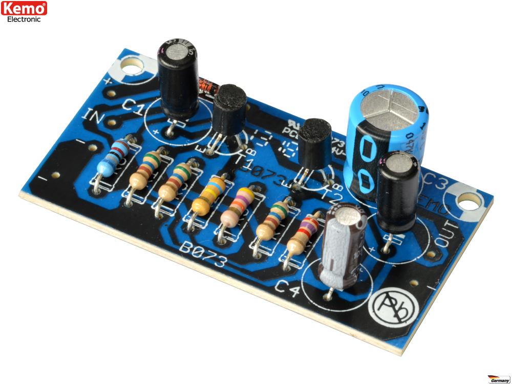 Vorverstärker - Super Breitband ca.10Hz - 150kHz 12V - 30V B073 Kemo ...