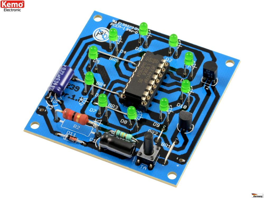 Elektronik Spiele als Bausatz kaufen | Lüdeke Elektronic