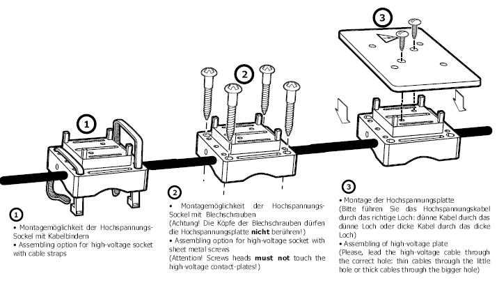KFZ Marderabwehr Tiervergrähmung 12V DC Ultraschall / Hochspannung ...