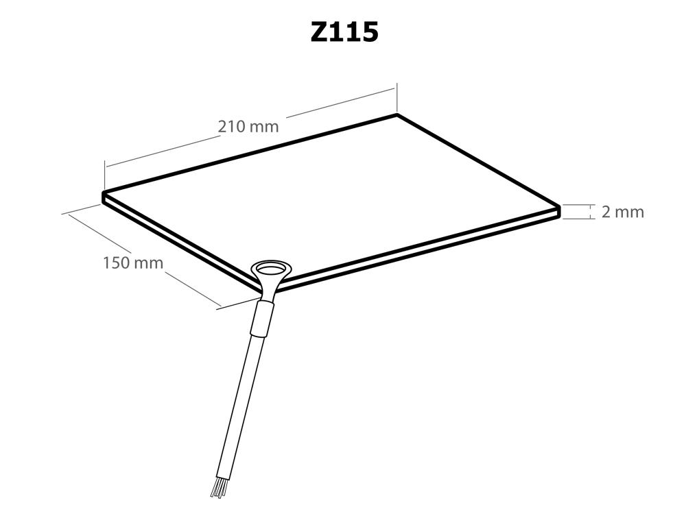 masse matte f r elektroschock ger te kemo z115 marder stop. Black Bedroom Furniture Sets. Home Design Ideas