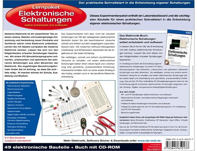 Experimentierset Lernpaket - Elektronische Schaltungen Franzis ...