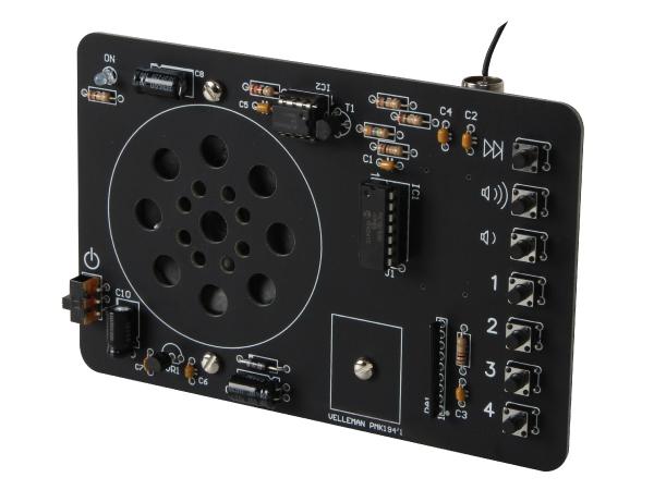 digital gesteuertes fm ukw radio empf nger 9v dc mk194n. Black Bedroom Furniture Sets. Home Design Ideas