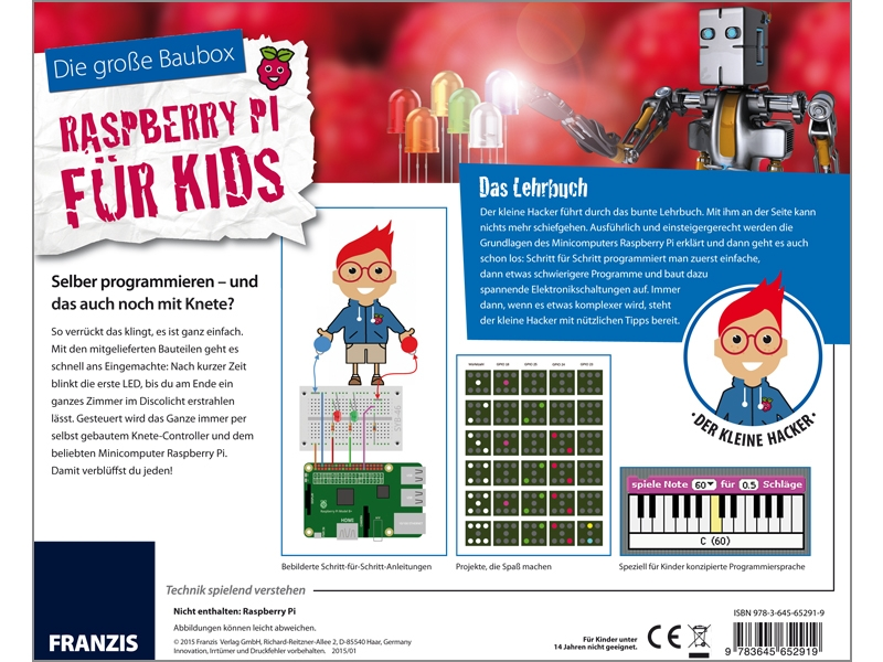 Die große Baubox - Der kleine Hacker: Raspberry Pi für Kids Alter 14 ...
