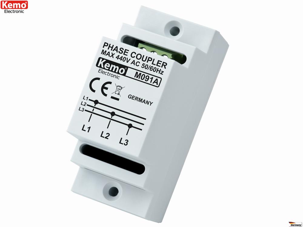 Phasenkoppler Netzwerkkoppler für Netzwerke übers Stromnetz ...