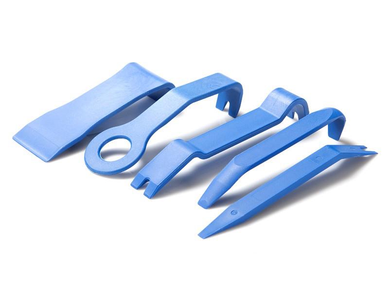 Ausbauwerkzeug Aushebelwerkzeug Kunststoff 4er Set für zb KFZ Verkleidungen usw