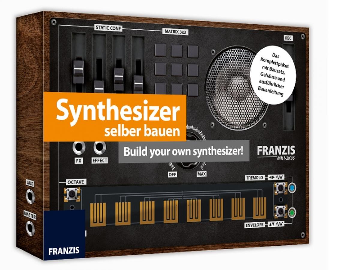 experimentierpaket synthesizer selber bauen franzis alter 14+