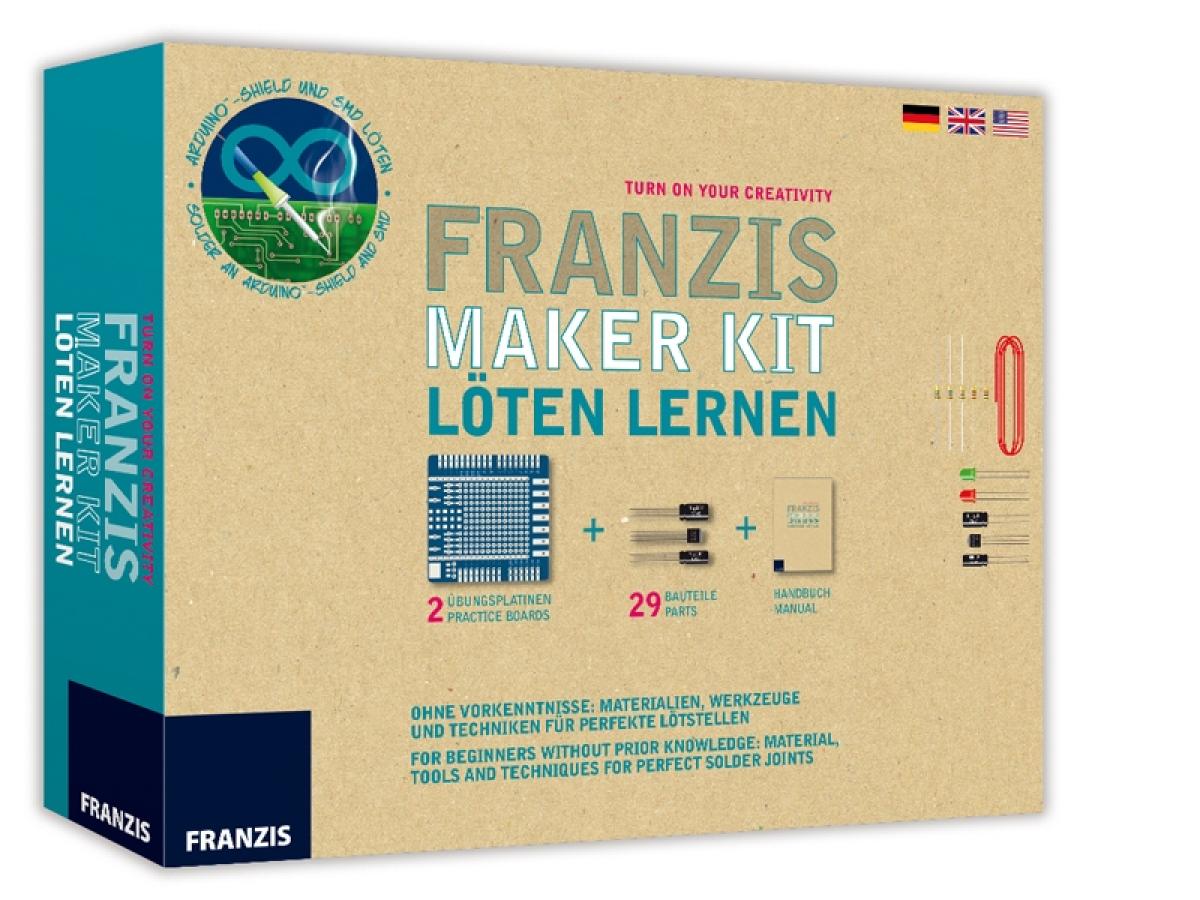 Lernpaket Franzis Marker Kit - Löten lernen Alter 14+ Franzis ...