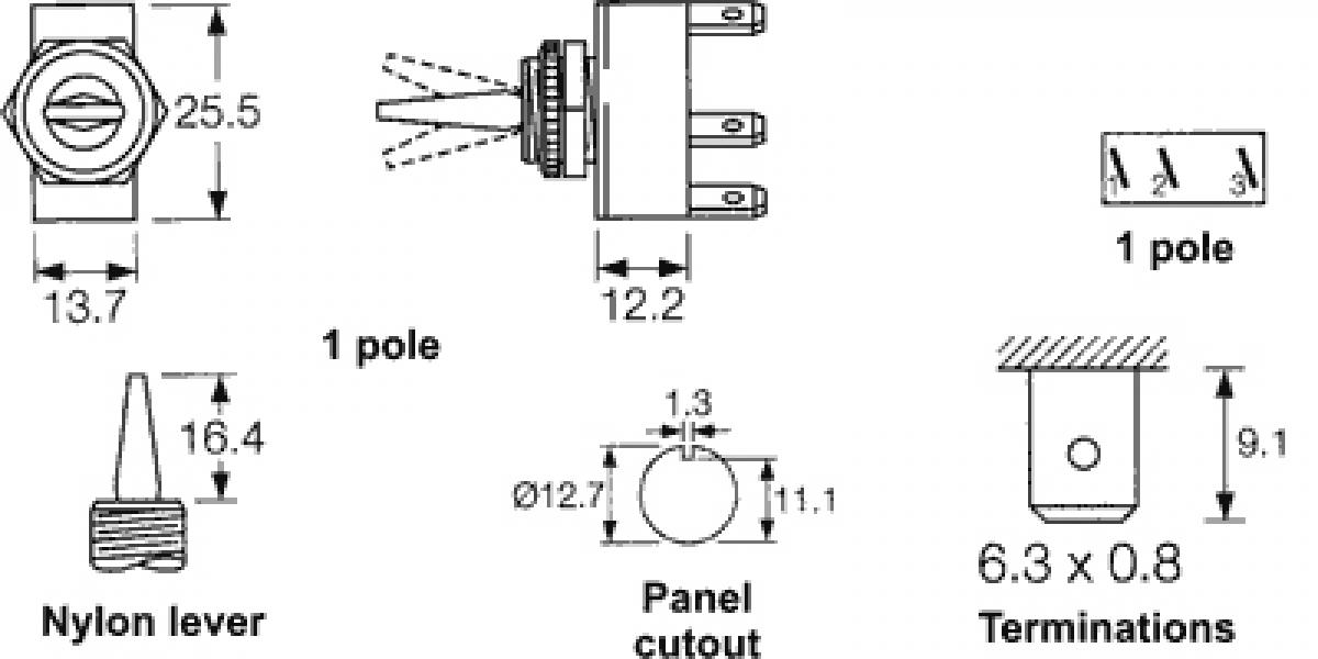 Berühmt 2 Einpolige Schalter Bilder - Elektrische Schaltplan-Ideen ...