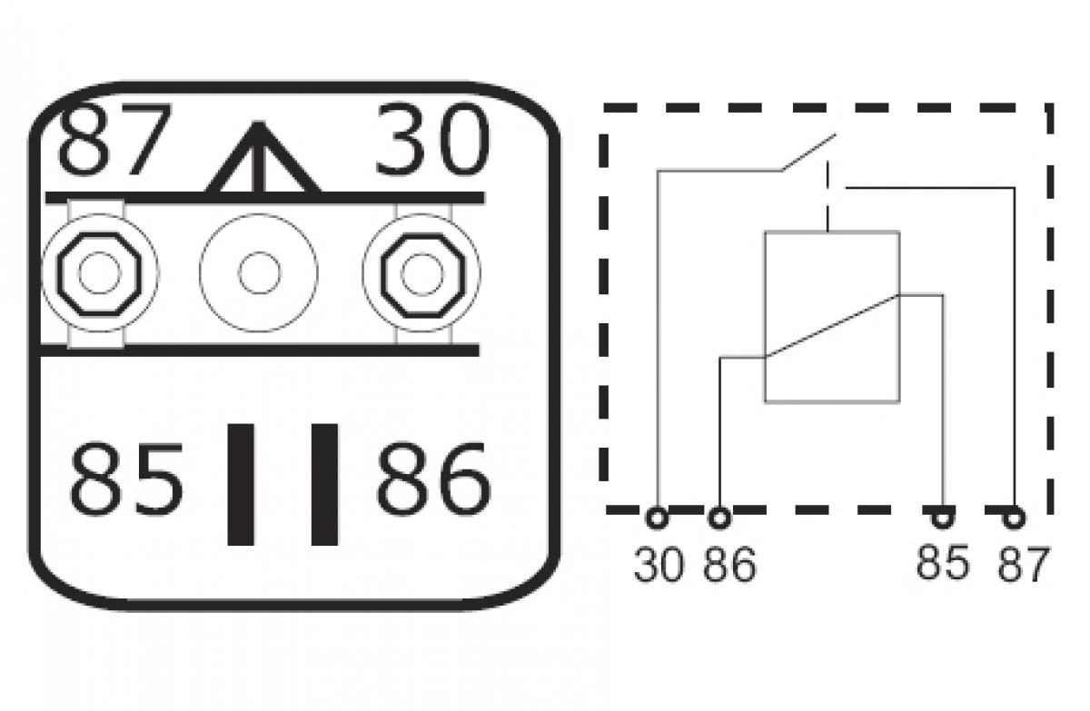 hochlast relais trennrelais batterie lastrelais kfz 12v