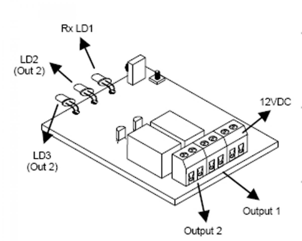 IR Empfänger 2 Kanal 12V MK161 Velleman Bausatz | Lüdeke Elektronic
