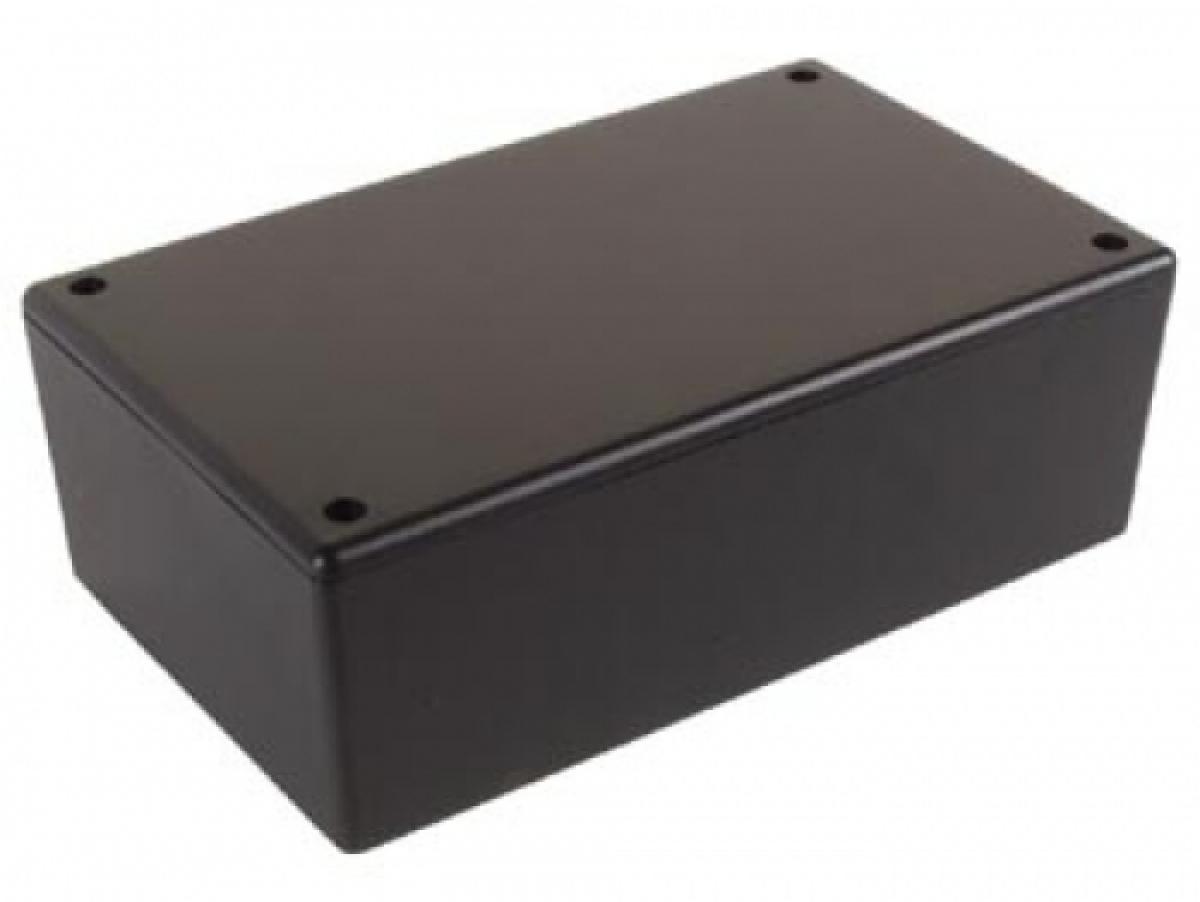 abs kunststoff geh use wcah2852 200x100x65mm schwarz f r. Black Bedroom Furniture Sets. Home Design Ideas