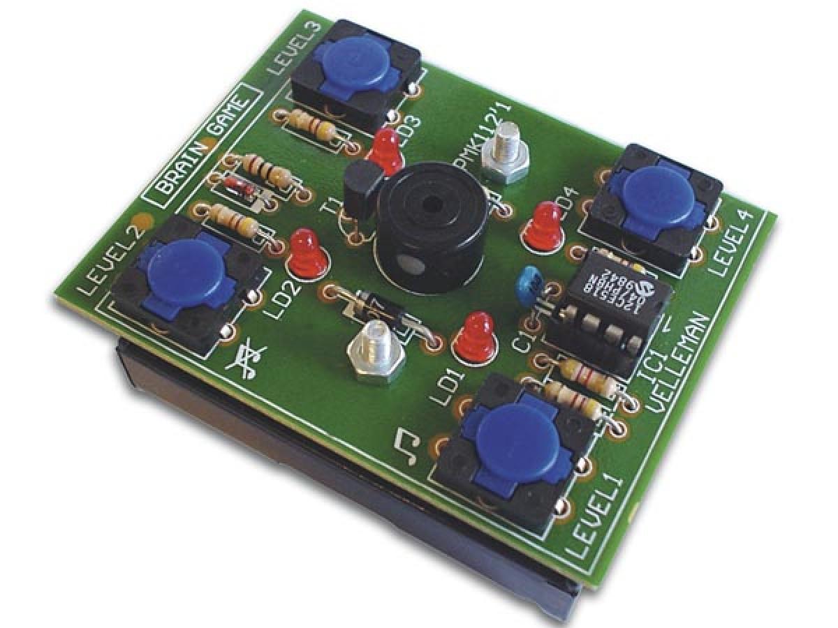 Elektronisches Geschicklichkeitsspiel Spiel Mk112 Velleman