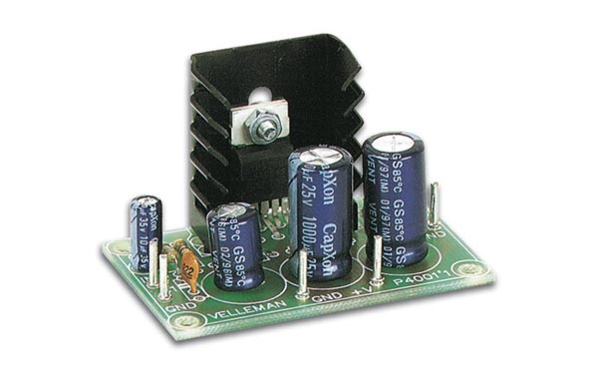 7 Watt Mono Verstrker 8v 18v Platinen Modul Vm114 Velleman Audio Amplifier Circuit Using Tda2002