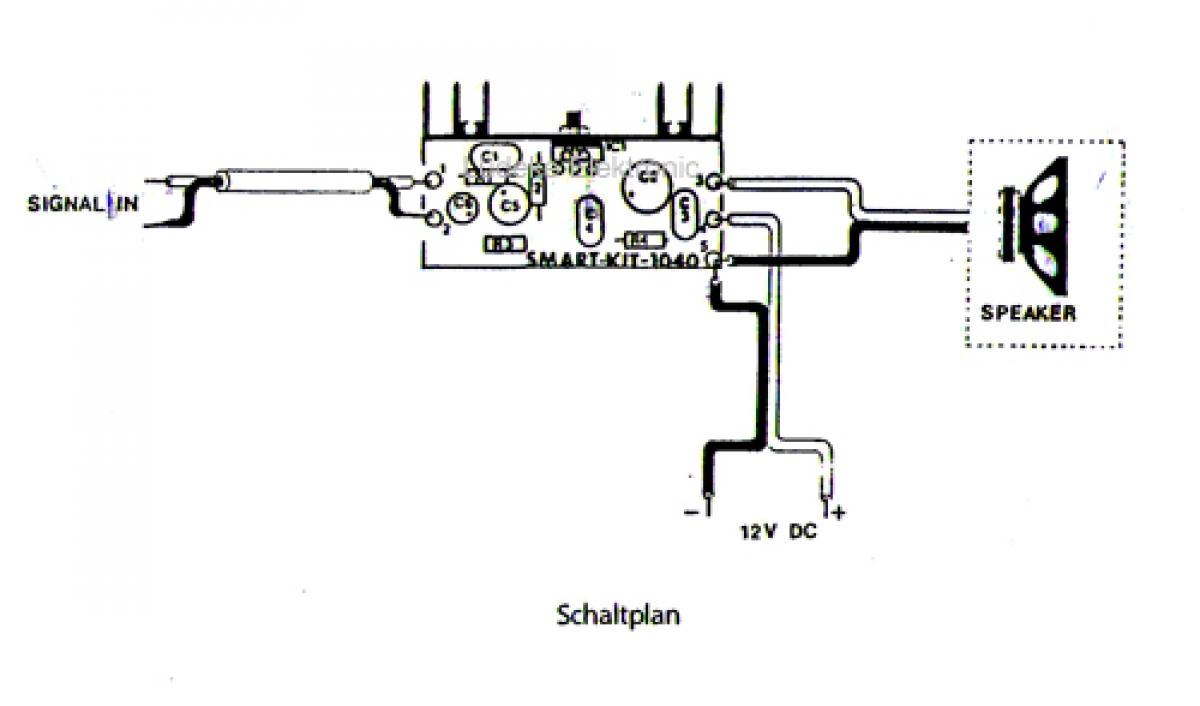 Hifi Verstrker 10watt Mono 12v 15v B1040 Smart Kit Bausatz Audio Amplifier Circuit Using Tda2002