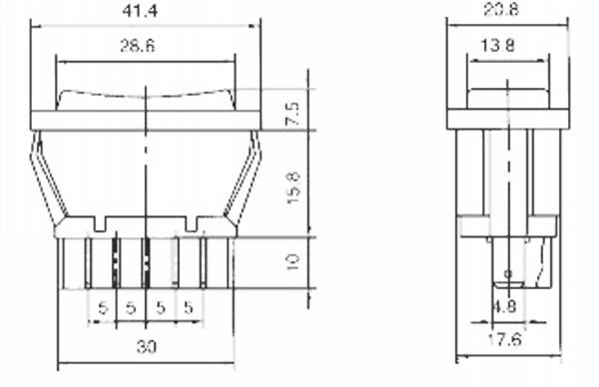 Universal Fensterheber Schalter Fensterheberschalter 12V max 20A ...