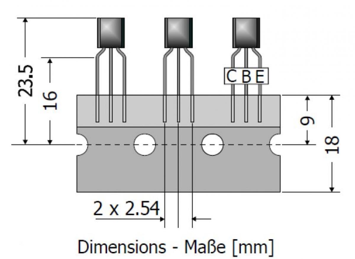 Transistor Pnp Bc640 100v 1a 08w To92 Ldeke Elektronic Diagram