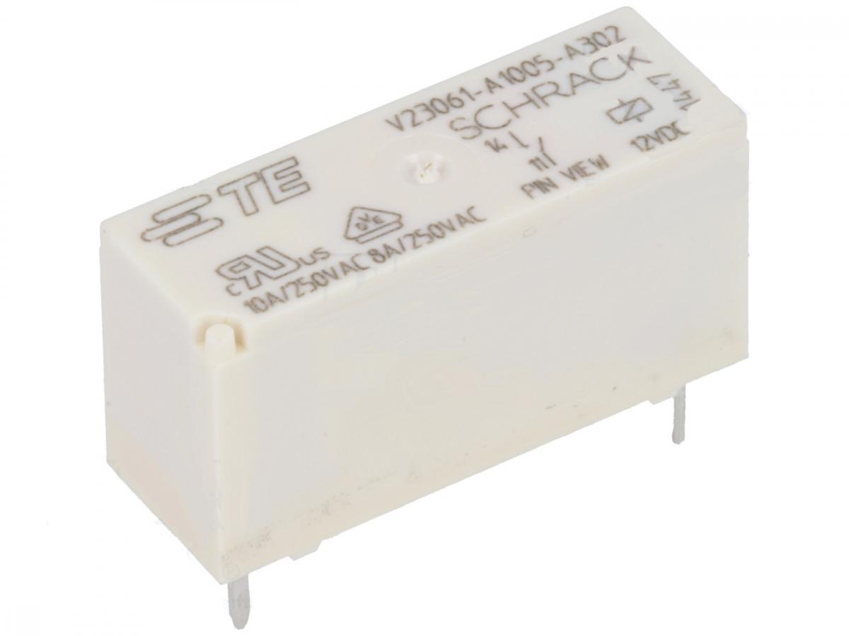 Relais 12V 1xEIN 240V 10A 8A Siemens V23061-A1005-A402 #15R70