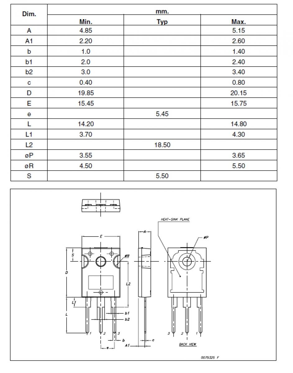 Darlington Npn Transistor Bu931 P 400v 15a Bipolar To247 Ldeke Circuit Diagram Of A Pair Using Transistors