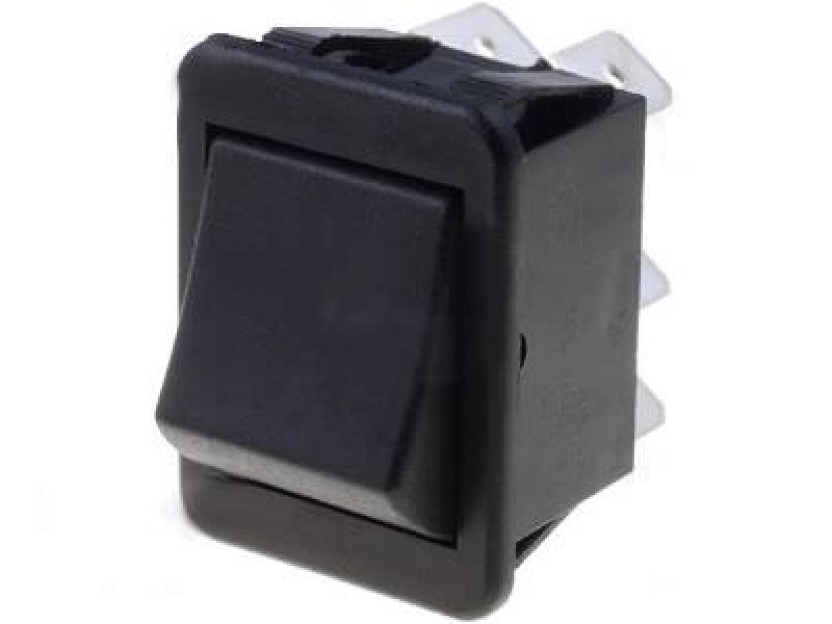 5x Schiebeschalter; Schiebeschalter 6 Pins 2x UM schwarz