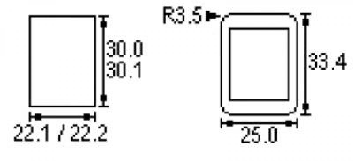 Wippenschalter Schalter mit Symbole I II 2x UM EIN - EIN schwarz 30 ...